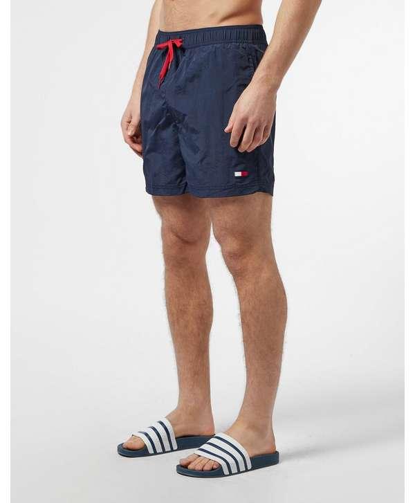 f945b0c308 Tommy Hilfiger Logo Side Stripe Swim Shorts | scotts Menswear