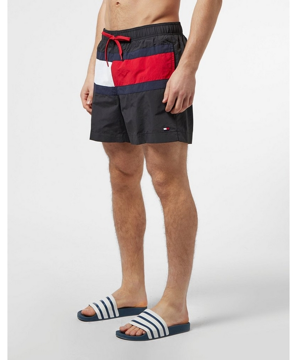 bff8d64d Tommy Hilfiger Large Flag Swim Shorts | scotts Menswear