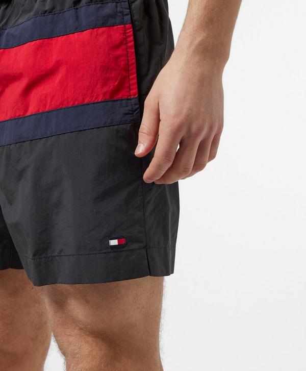 d01b4dbfa7 Tommy Hilfiger Large Flag Swim Shorts | scotts Menswear