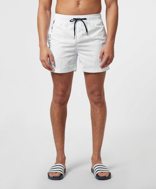 6169fa590b Tommy Hilfiger Logo Side Stripe Swim Shorts | scotts Menswear