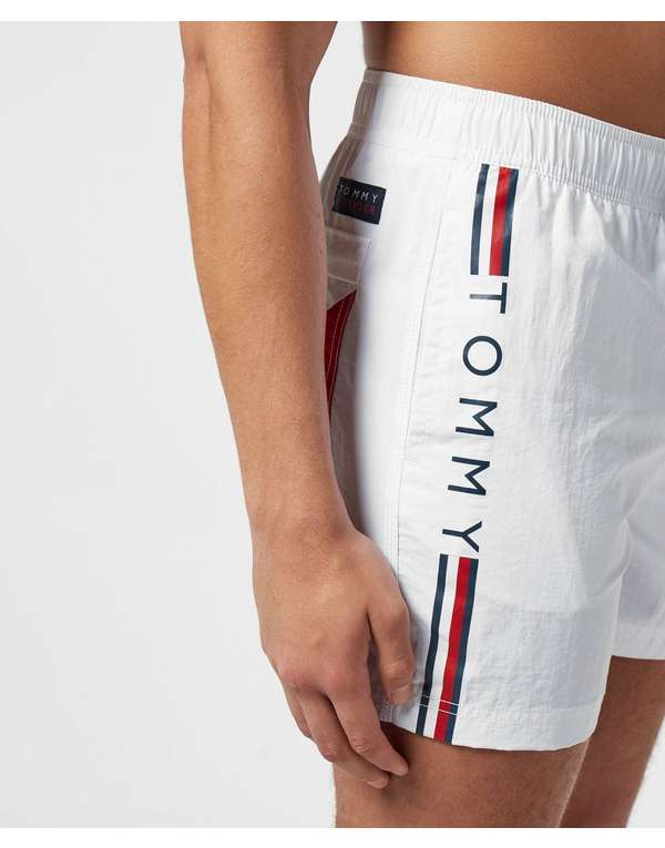Tommy Hilfiger Logo Side Stripe Swim Shorts
