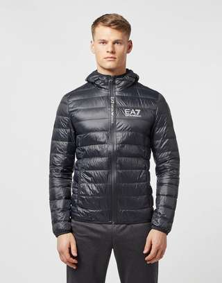 Emporio Armani EA7 Branded Zip Bubble Jacket