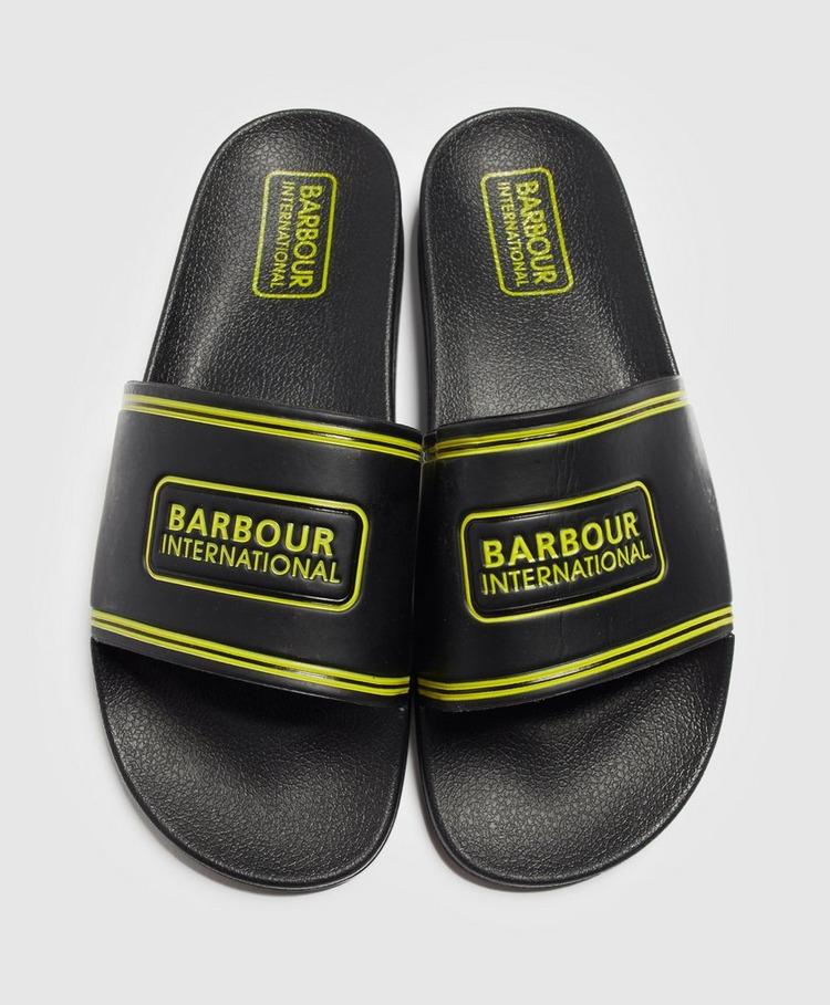 Barbour International Pool Slides