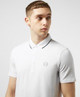 Armani Exchange Tipped Short Sleeve Polo Shirt