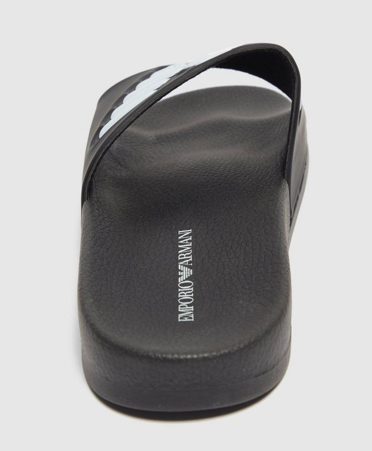 Emporio Armani Loungewear Logo Slides