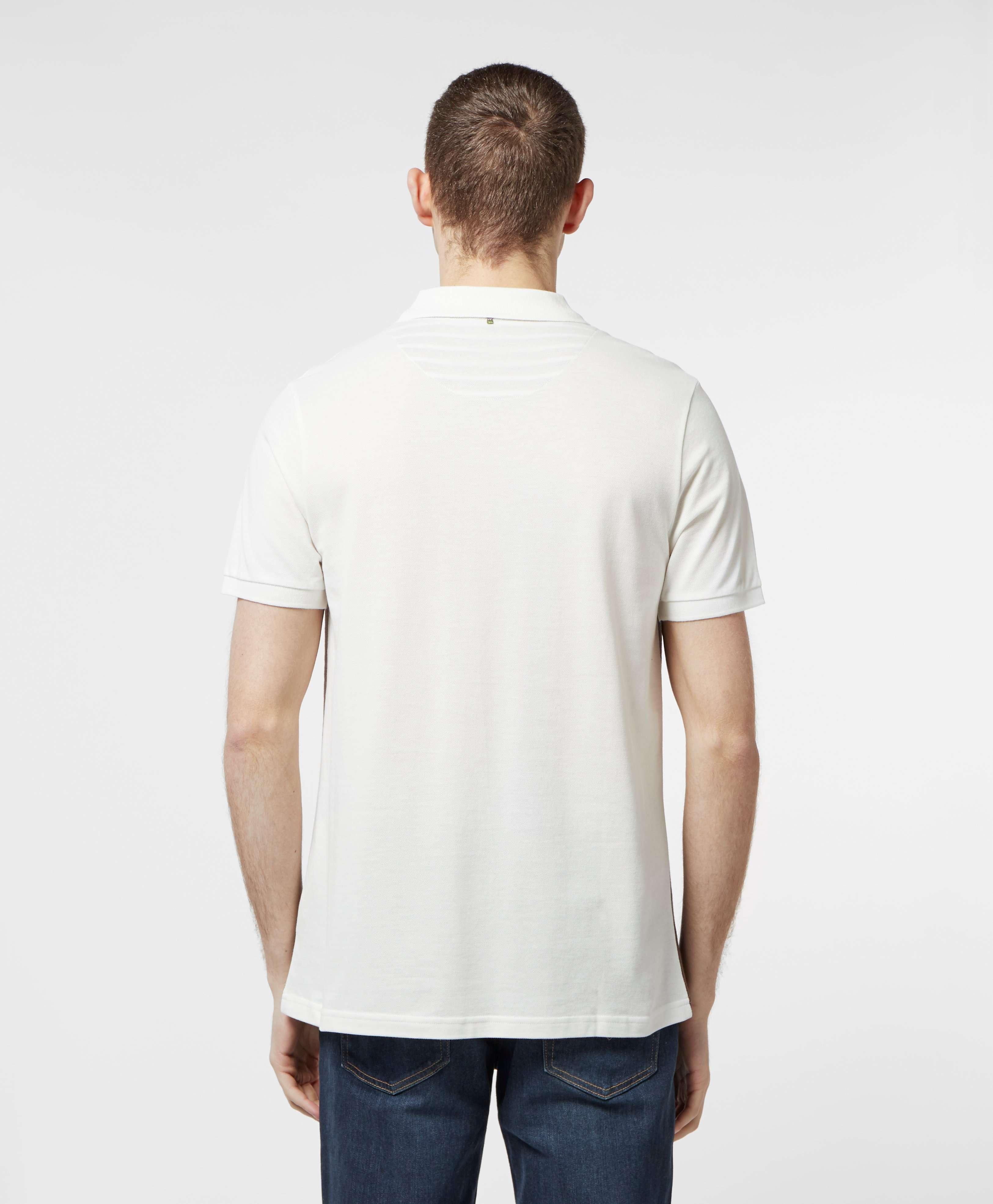 Pretty Green Short Sleeve Colour Block Polo Shirt