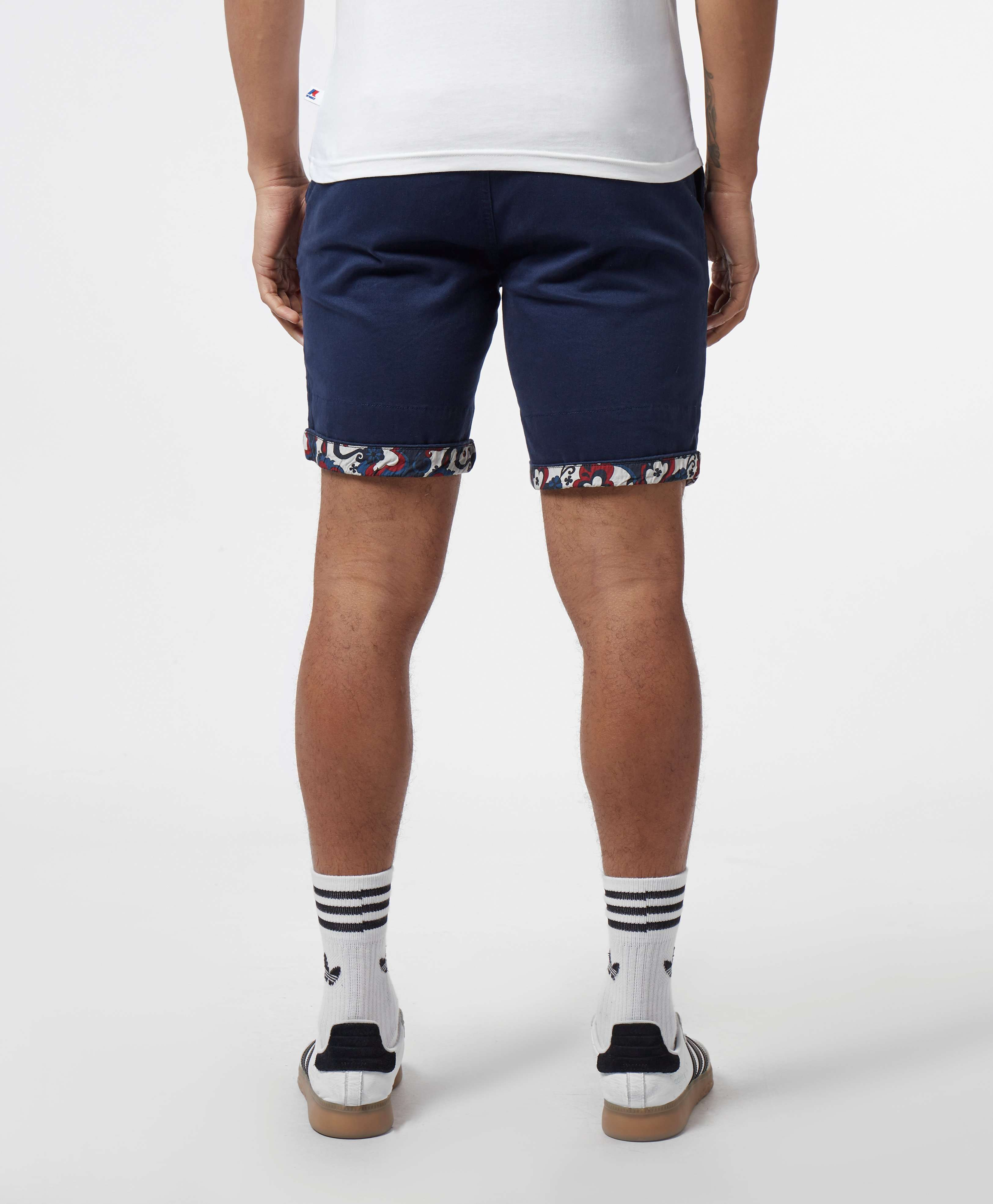 Pretty Green Turn Up Chino Shorts - Exclusive