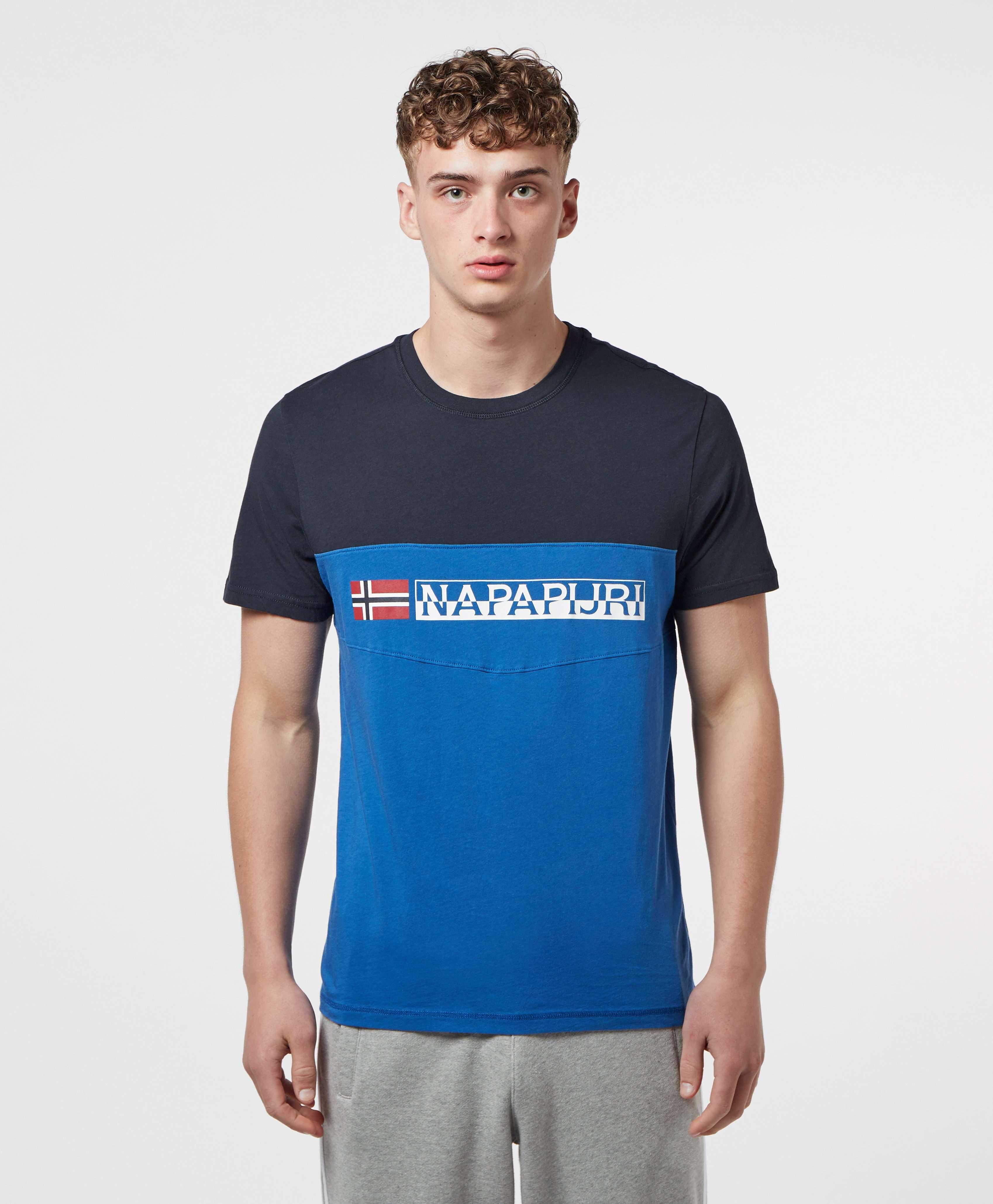 Napapijri Colour Block Skydiver Short Sleeve T-Shirt