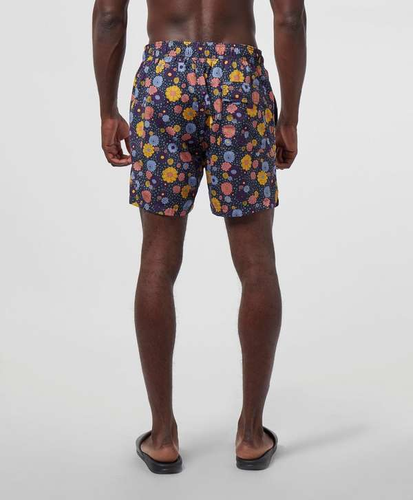 Pretty Green Floral Print Swim Shorts