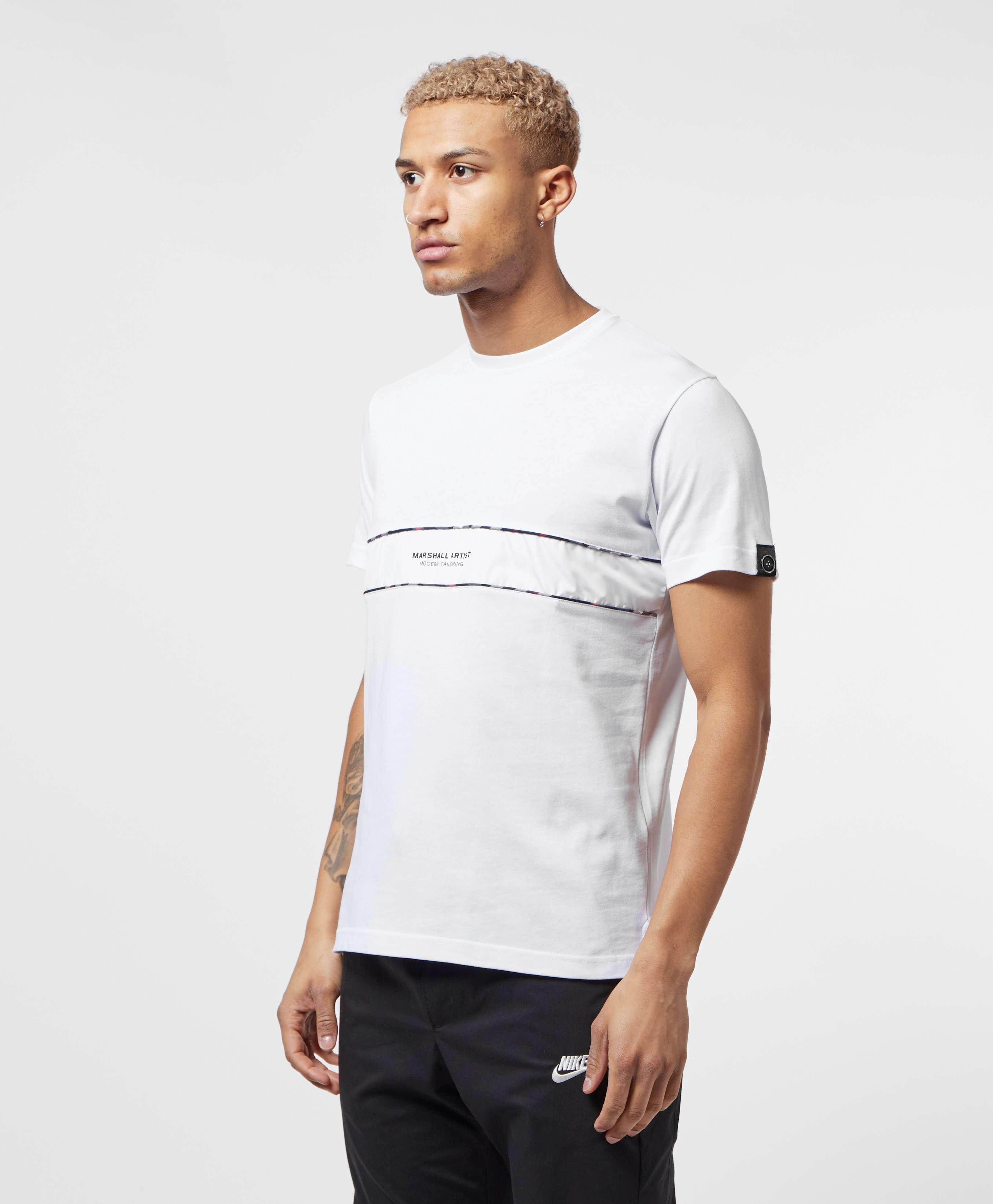 Marshall Artist Panel Check Short Sleeve T-Shirt