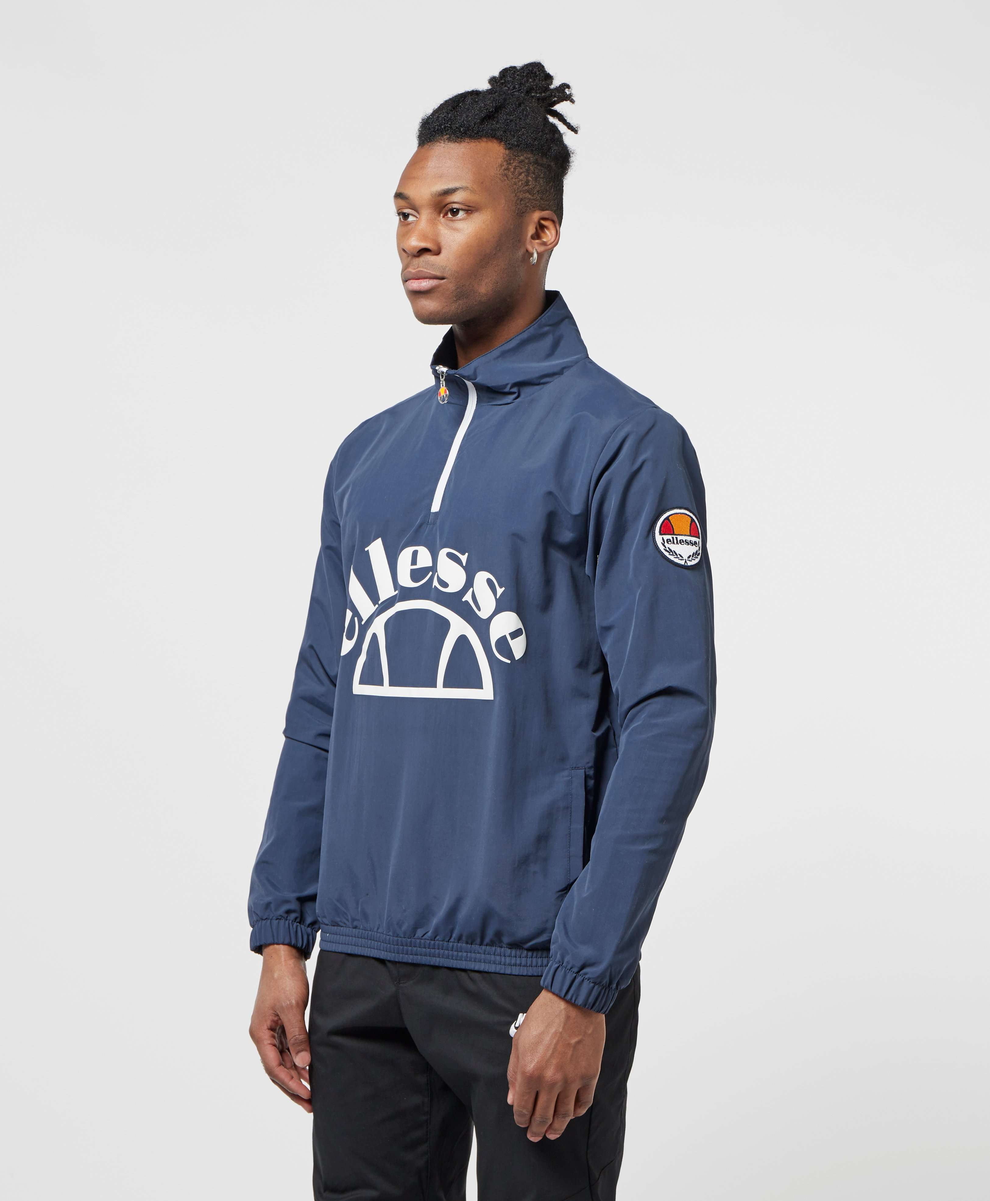 Ellesse Junio Half Zip Pullover Jacket - Online Exclusive