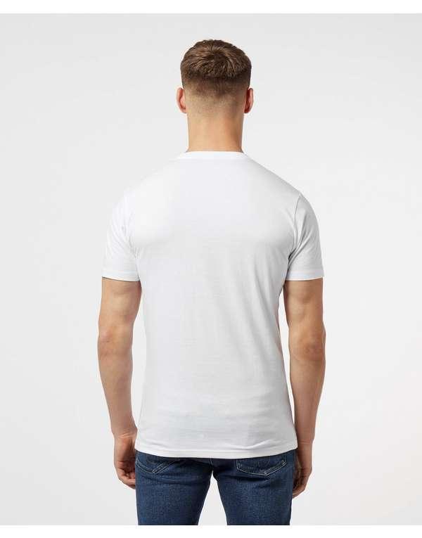 Denham Barcode Logo Short Sleeve T-Shirt