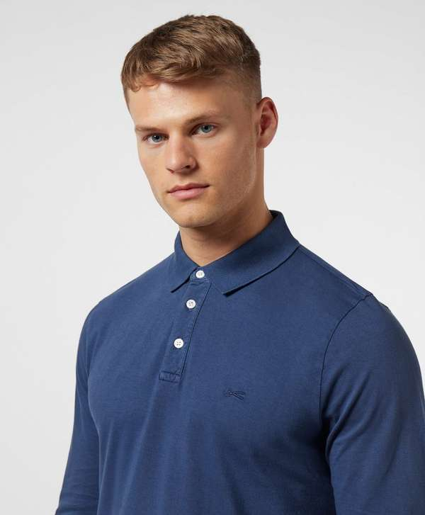 Denham Lupo Long Sleeve Polo Shirt