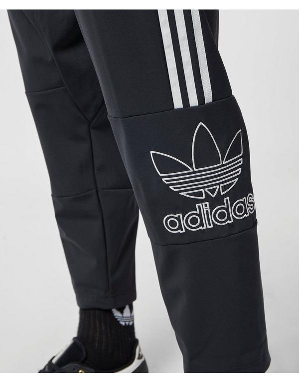 adidas Originals Trefoil Outline Cropped Track Pants