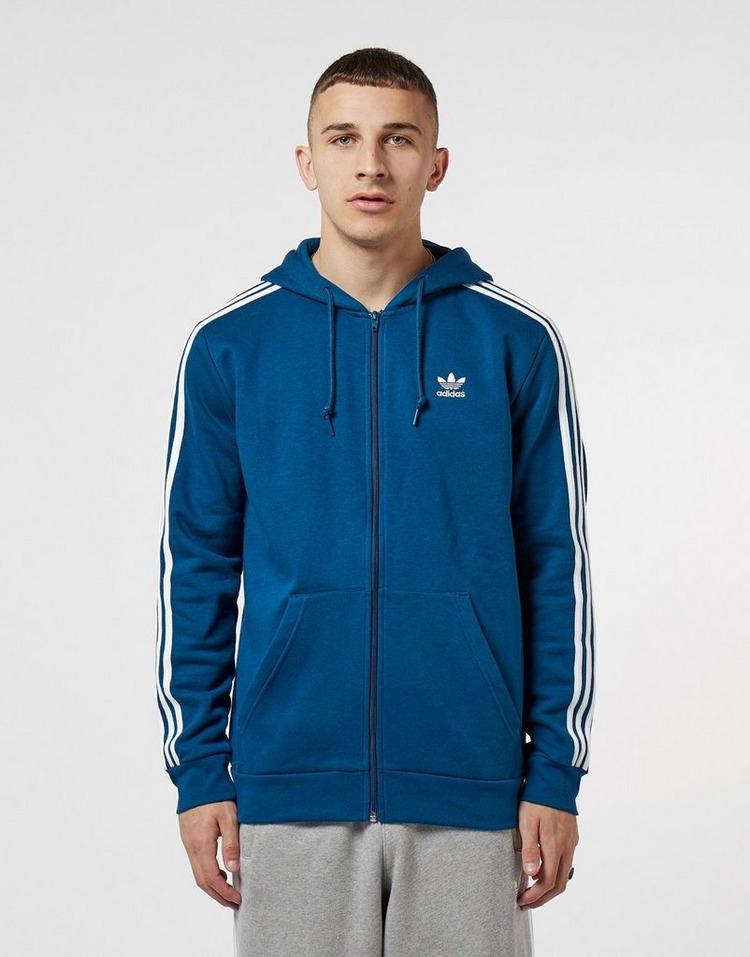 adidas Originals 3-Stripe Full Zip Hoodie