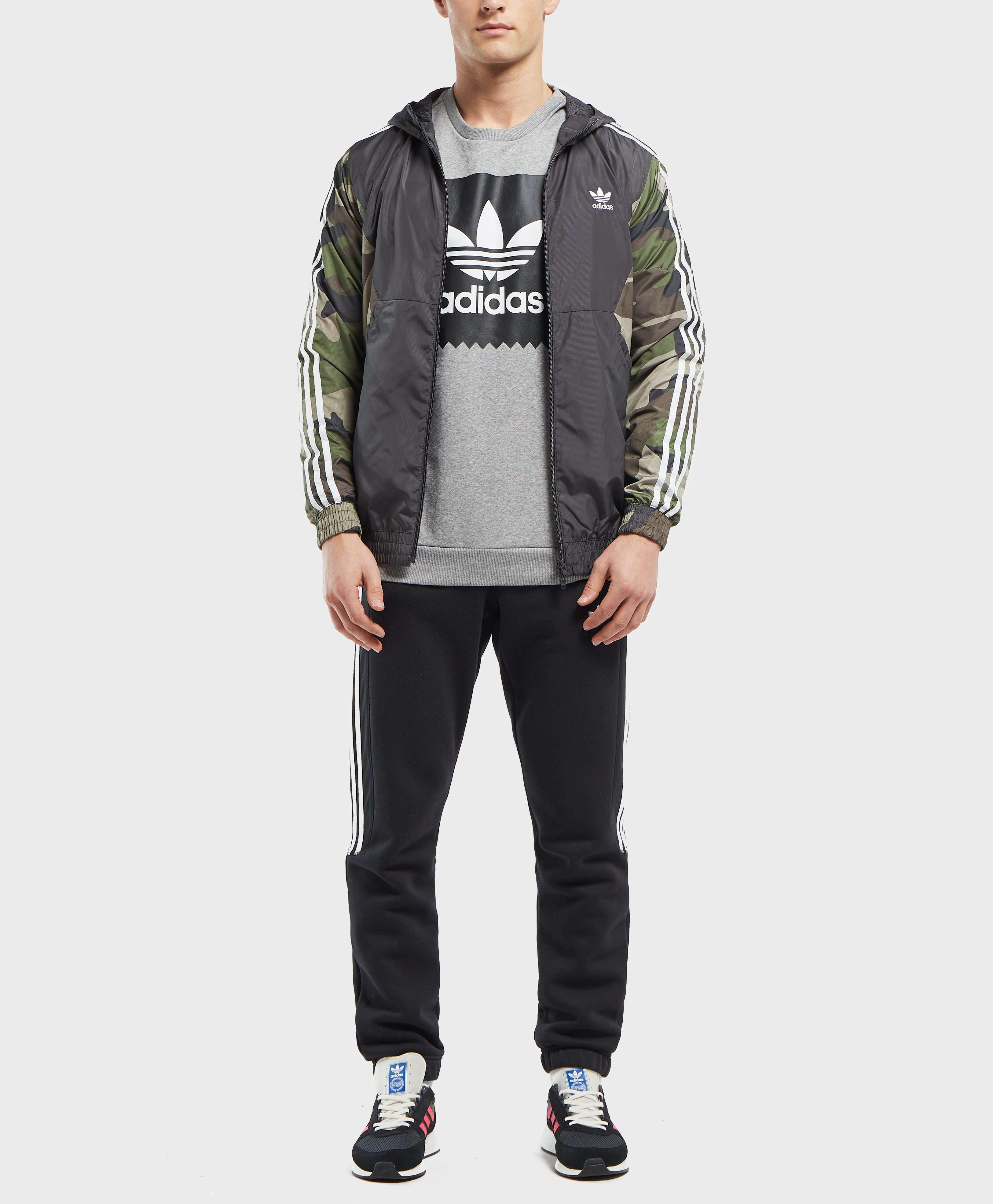 adidas Originals Camo Lightweight Windbreaker Jacket