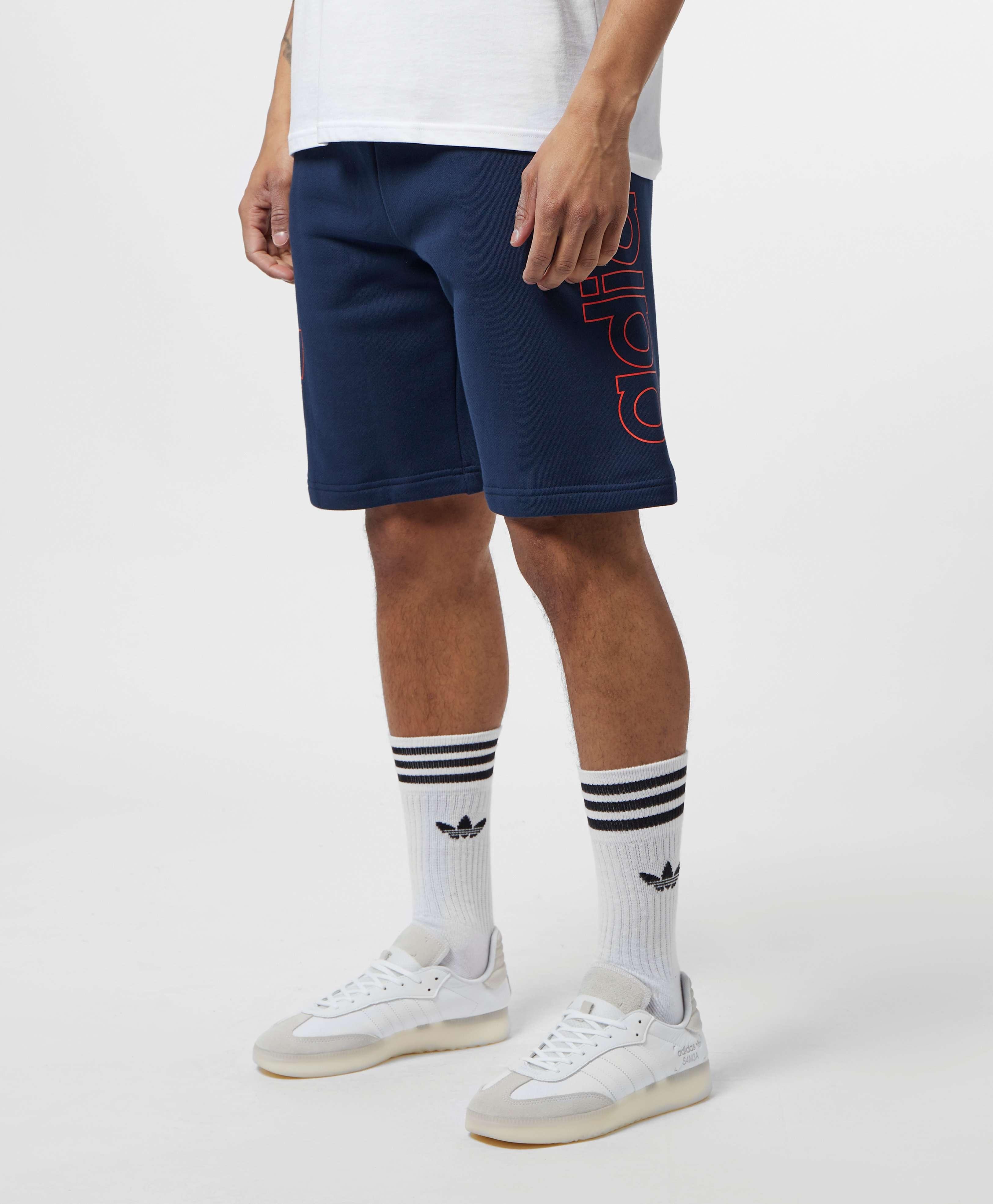 adidas Originals Spirit Dual Logo Fleece Shorts