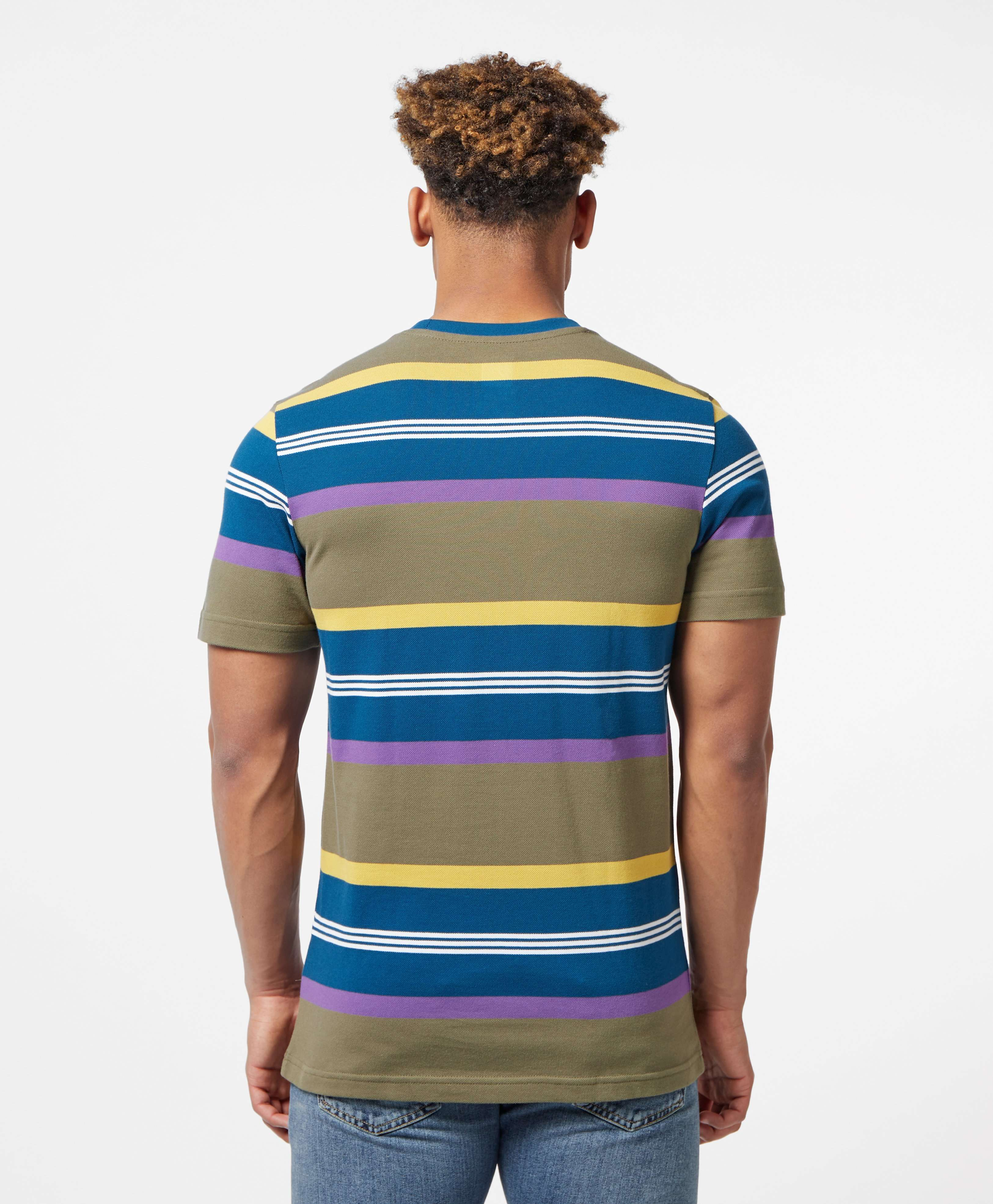 adidas Originals Pique Stripe Short Sleeve T-Shirt