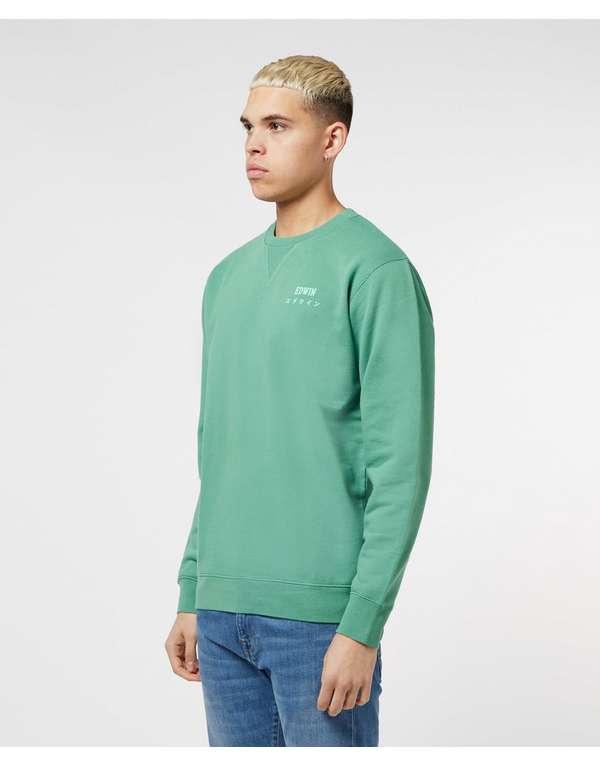 Edwin Basic Logo Sweatshirt