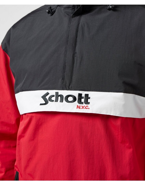 Schott Block Overhead Lightweight Jacket