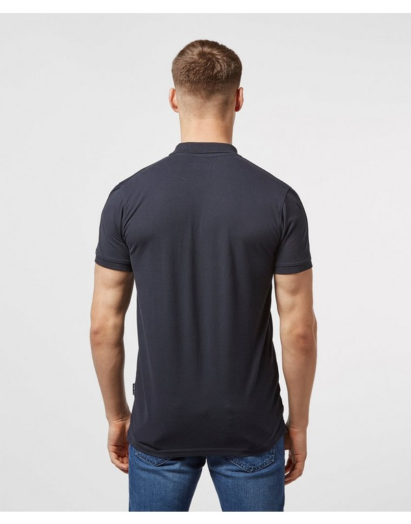 Schott Short Sleeve Tape Polo Shirt - Online Exclusive