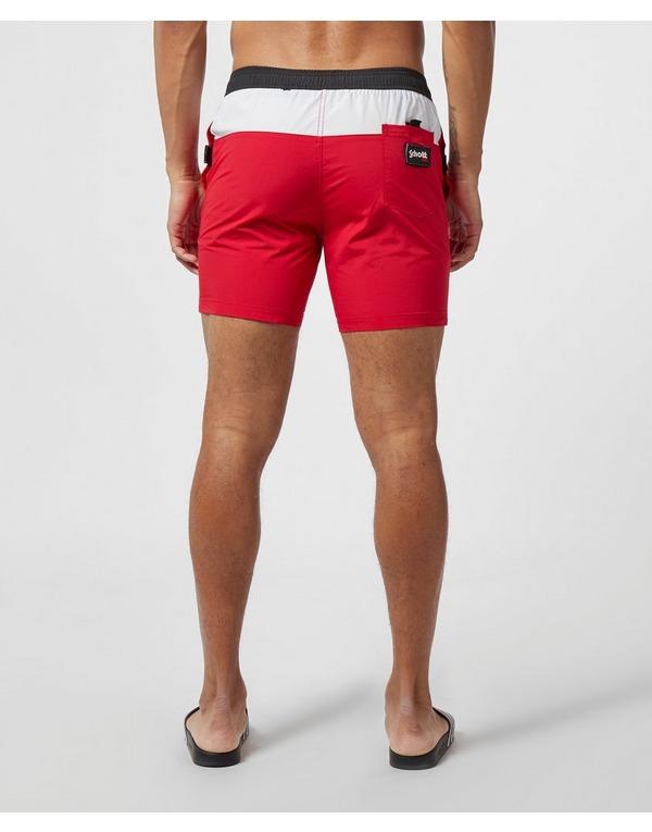 Schott Block Swim Shorts