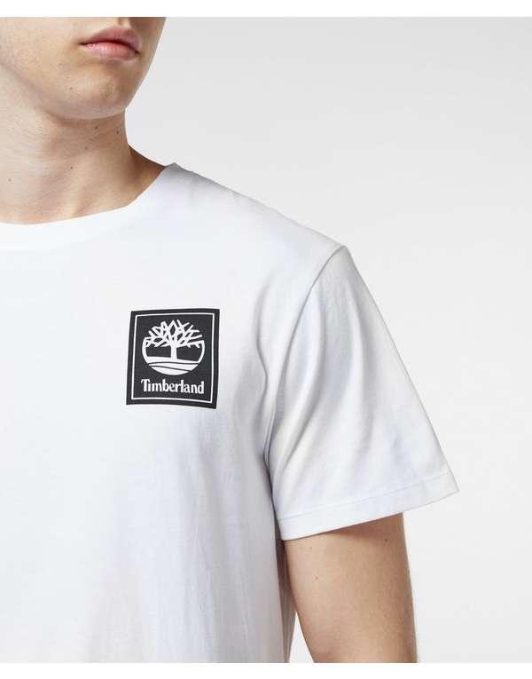 Timberland Square Logo Short Sleeve T-Shirt