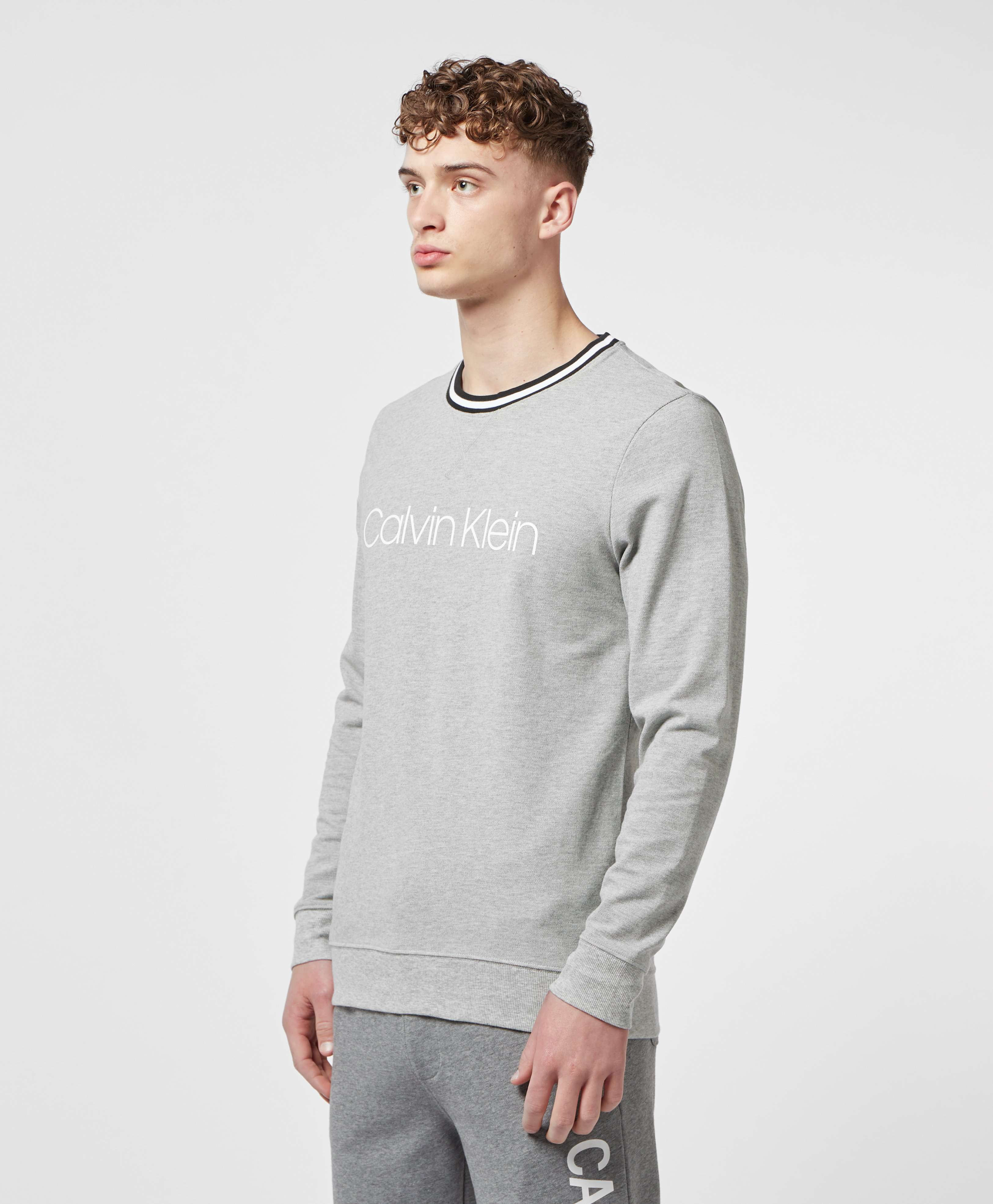 Calvin Klein Ringer Pique Sweatshirt