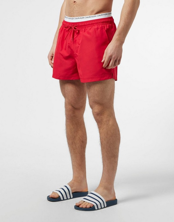 Calvin Klein Jeans Double Waistband Swim Shorts