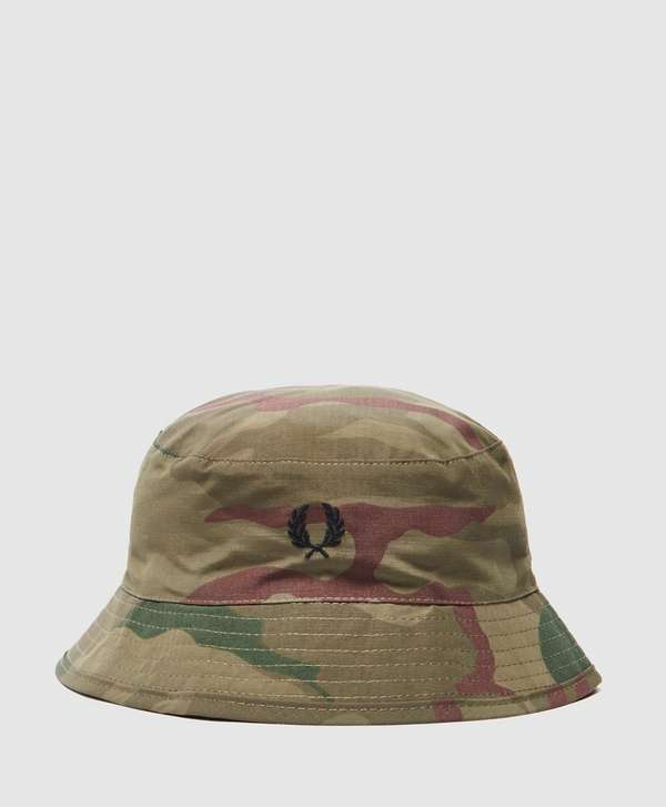 9c7c88c34 Fred Perry Camo Bucket Hat | scotts Menswear