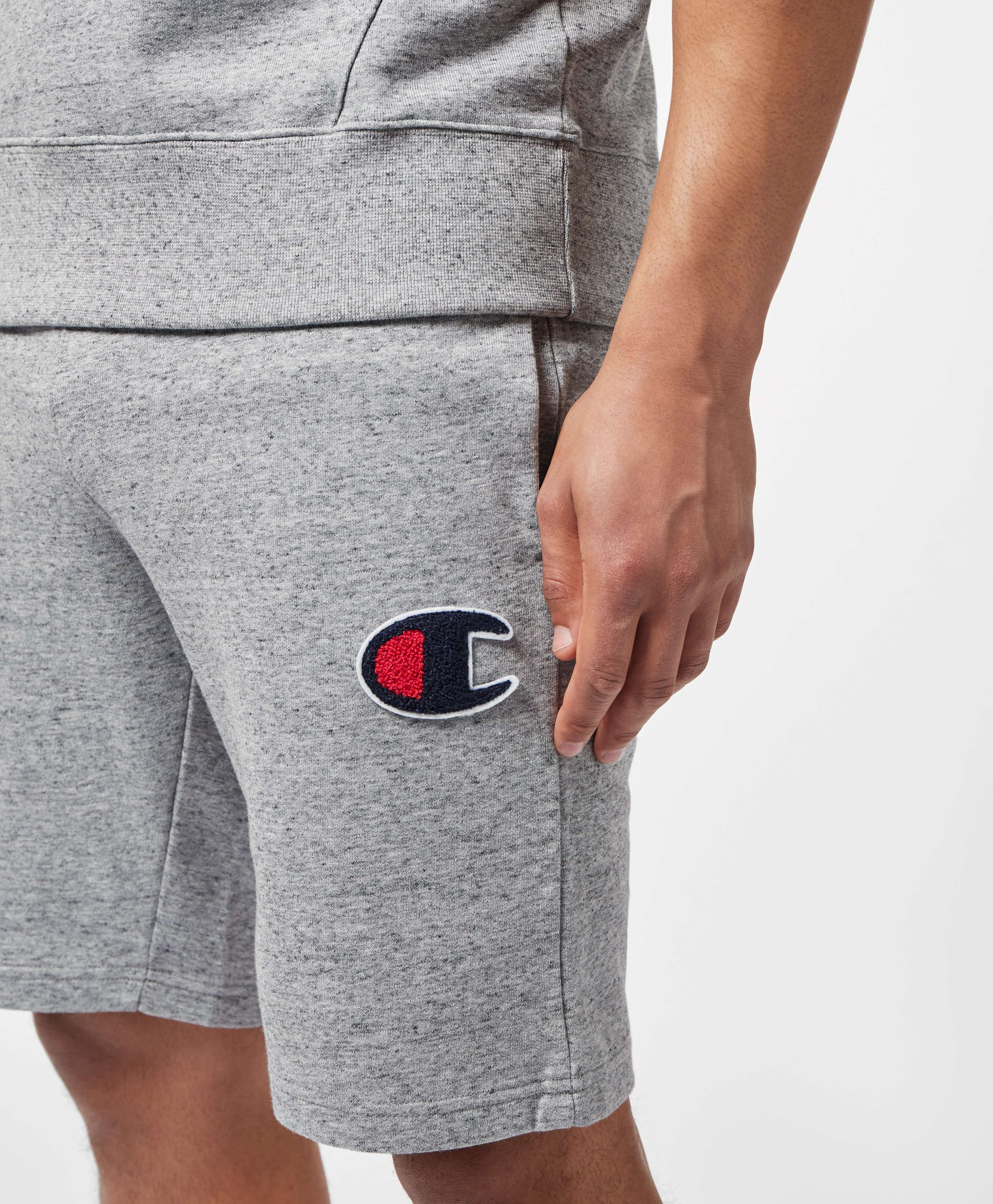 Champion Rochester C Logo Fleece Shorts