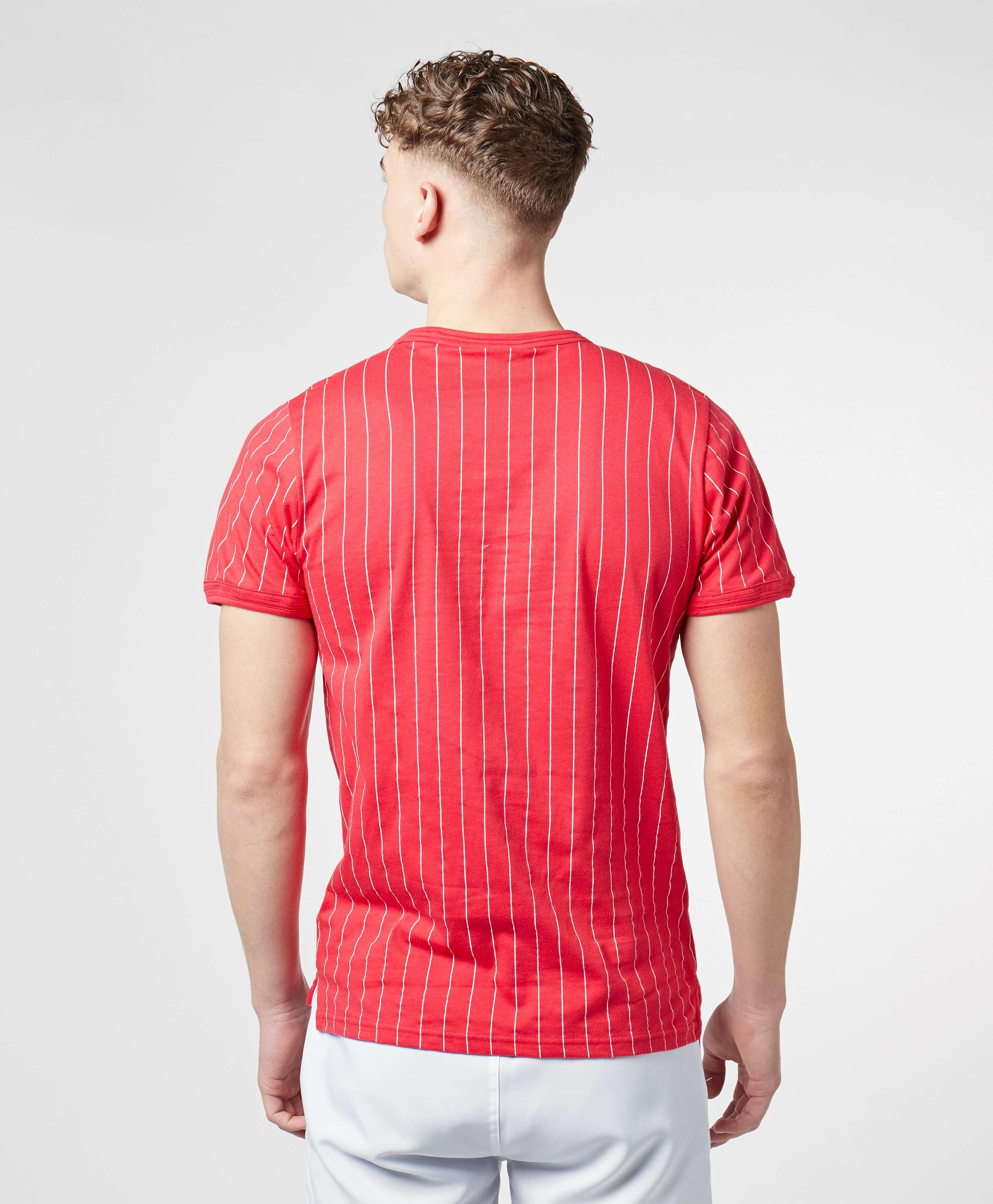 Fila Vertical Stripe Short Sleeve T-Shirt