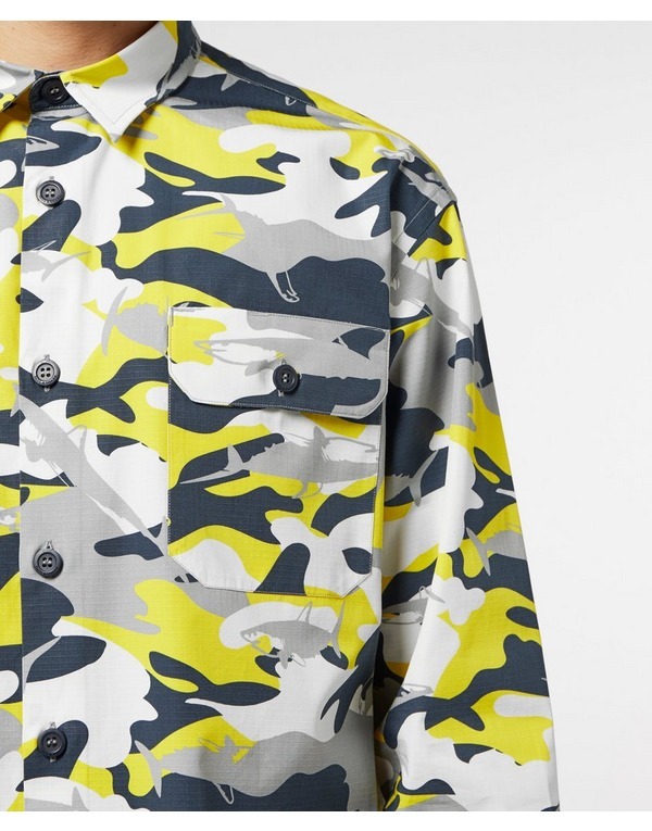 Paul and Shark Camo Overshirt