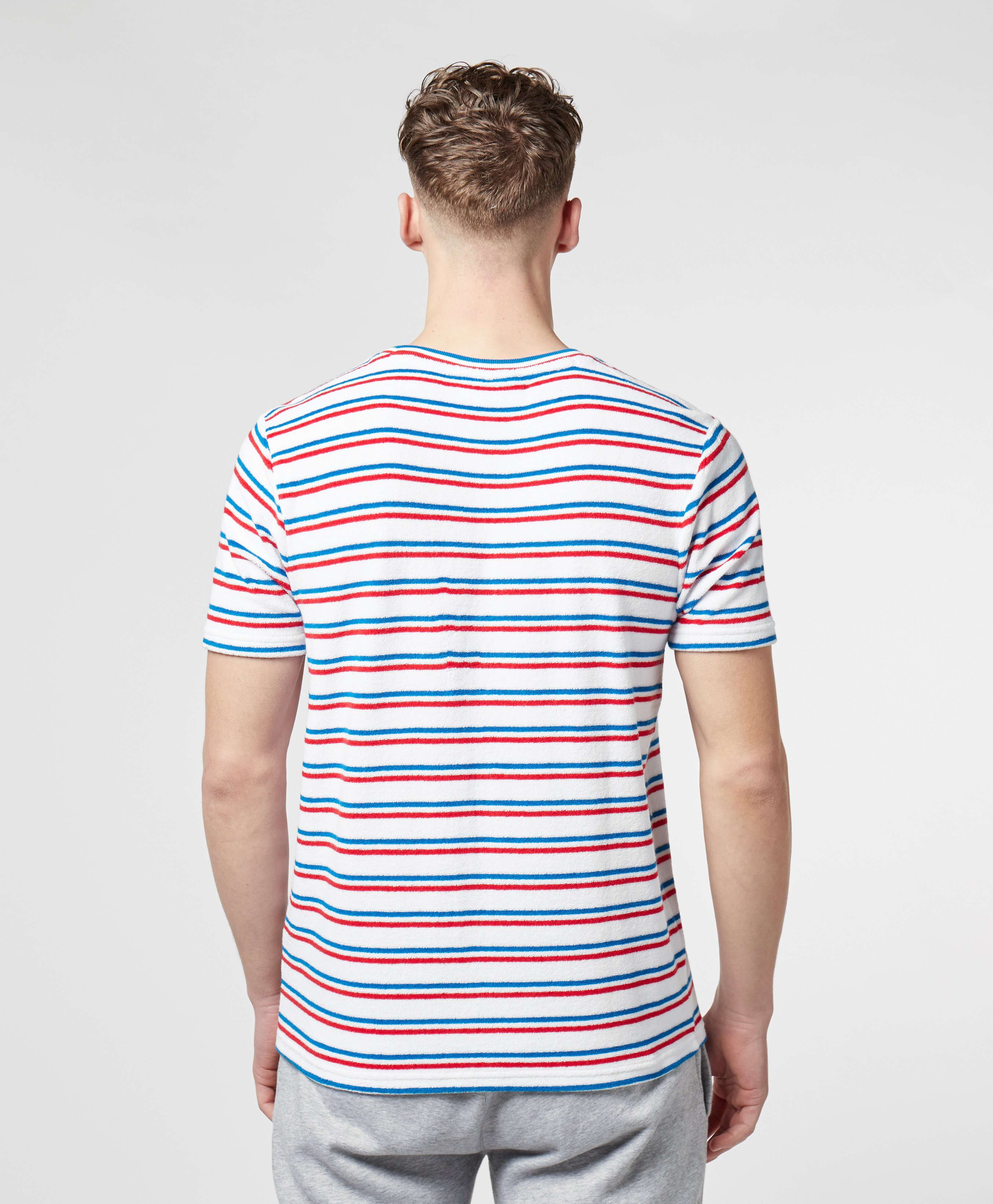 Fila Terry Stripe Short Sleeve T-Shirt