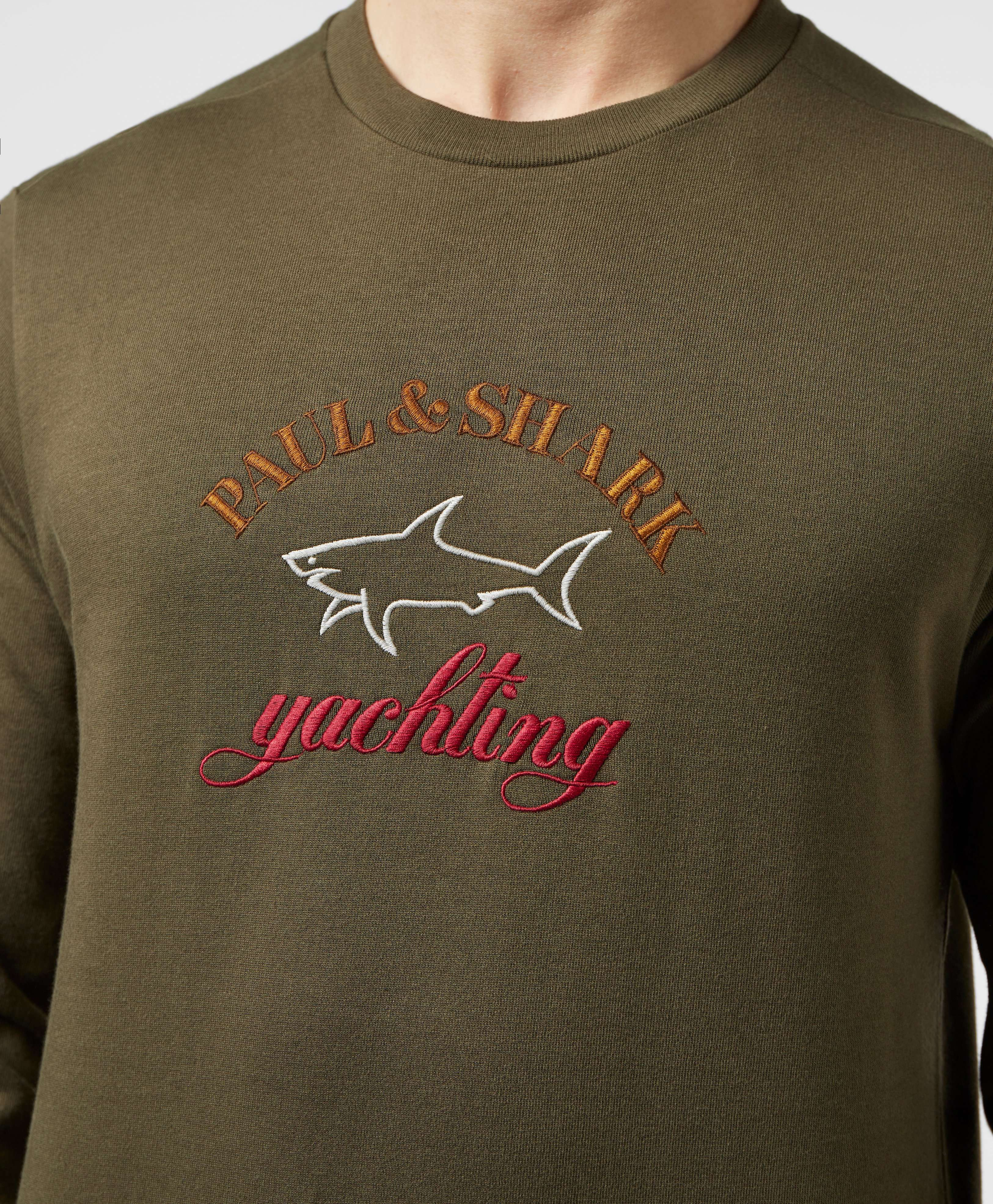 Paul and Shark Embroidered Logo Sweatshirt