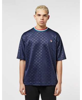 Fila Poly Emboss Short Sleeve T-Shirt
