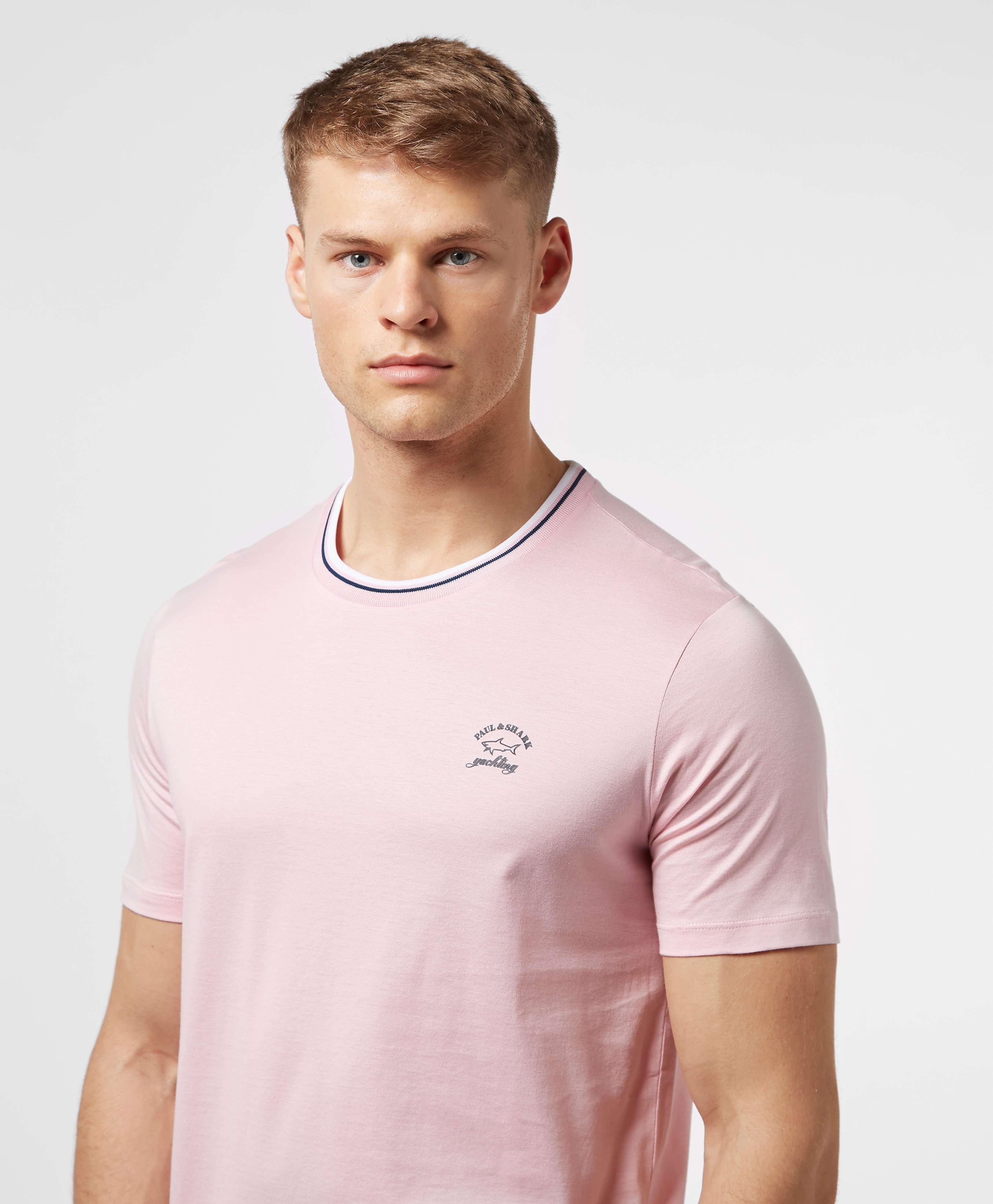 Paul and Shark Ringer Jersey Short Sleeve T-Shirt