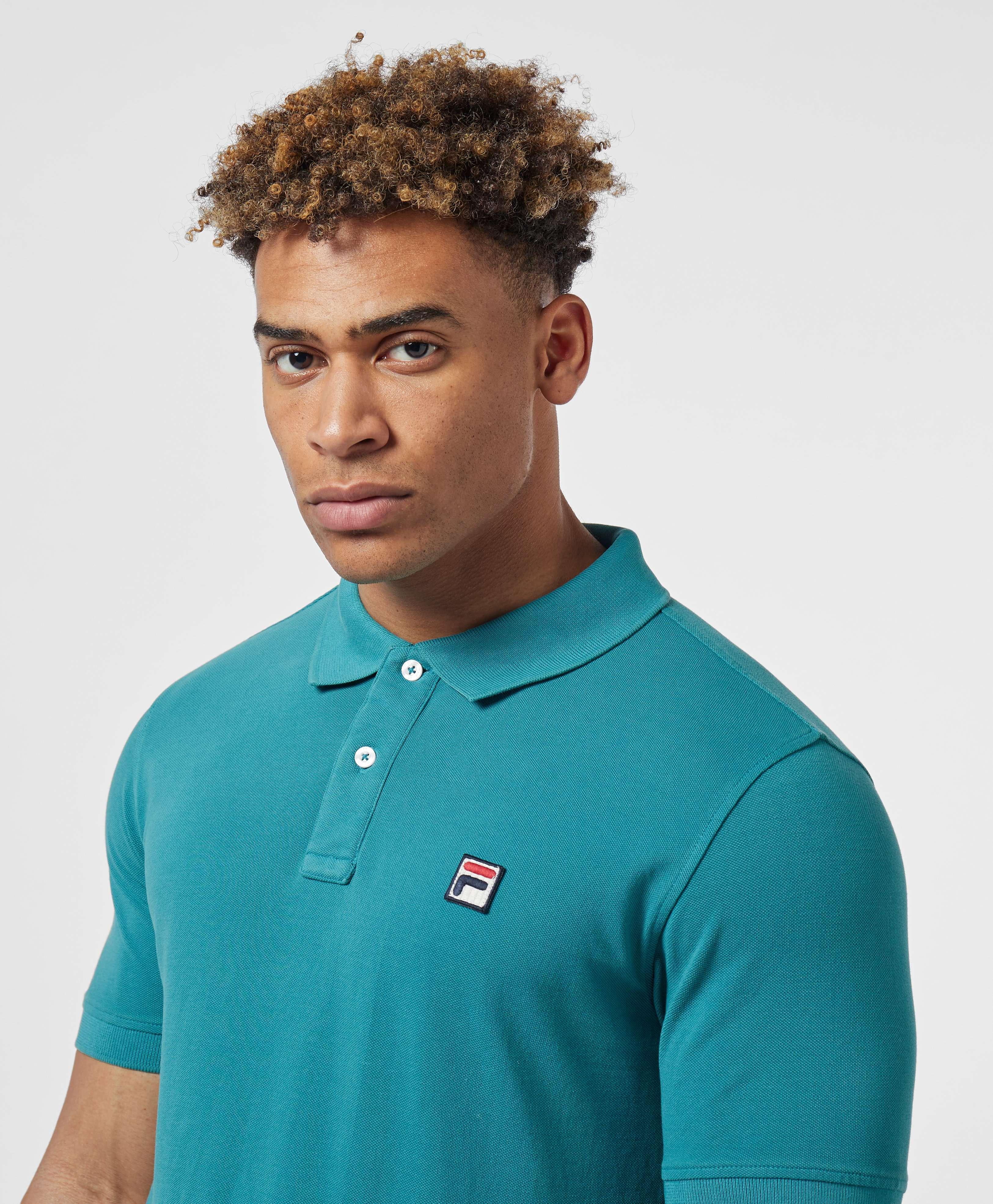 Fila Logo Short Sleeve Polo Shirt