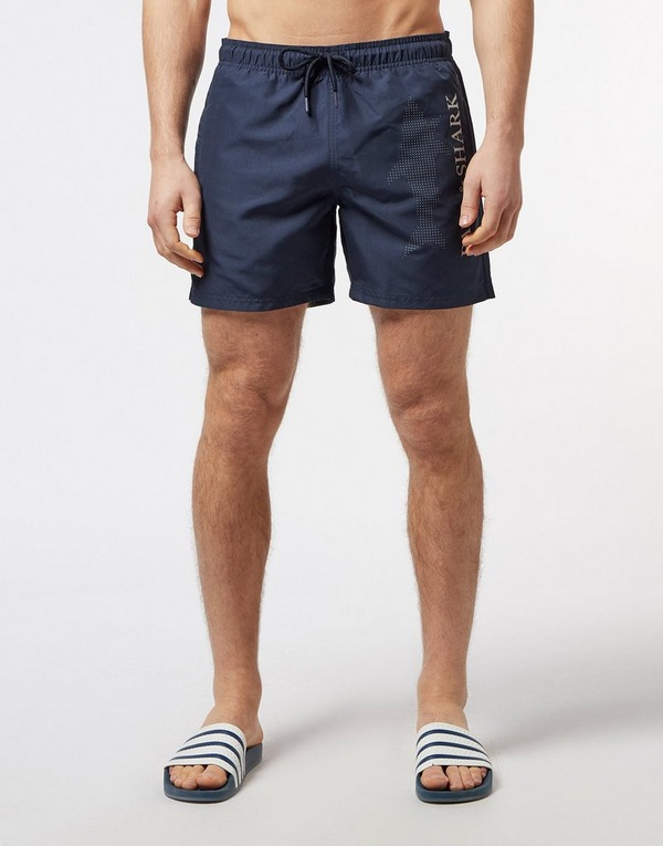 Paul and Shark Large Logo Swim Shorts