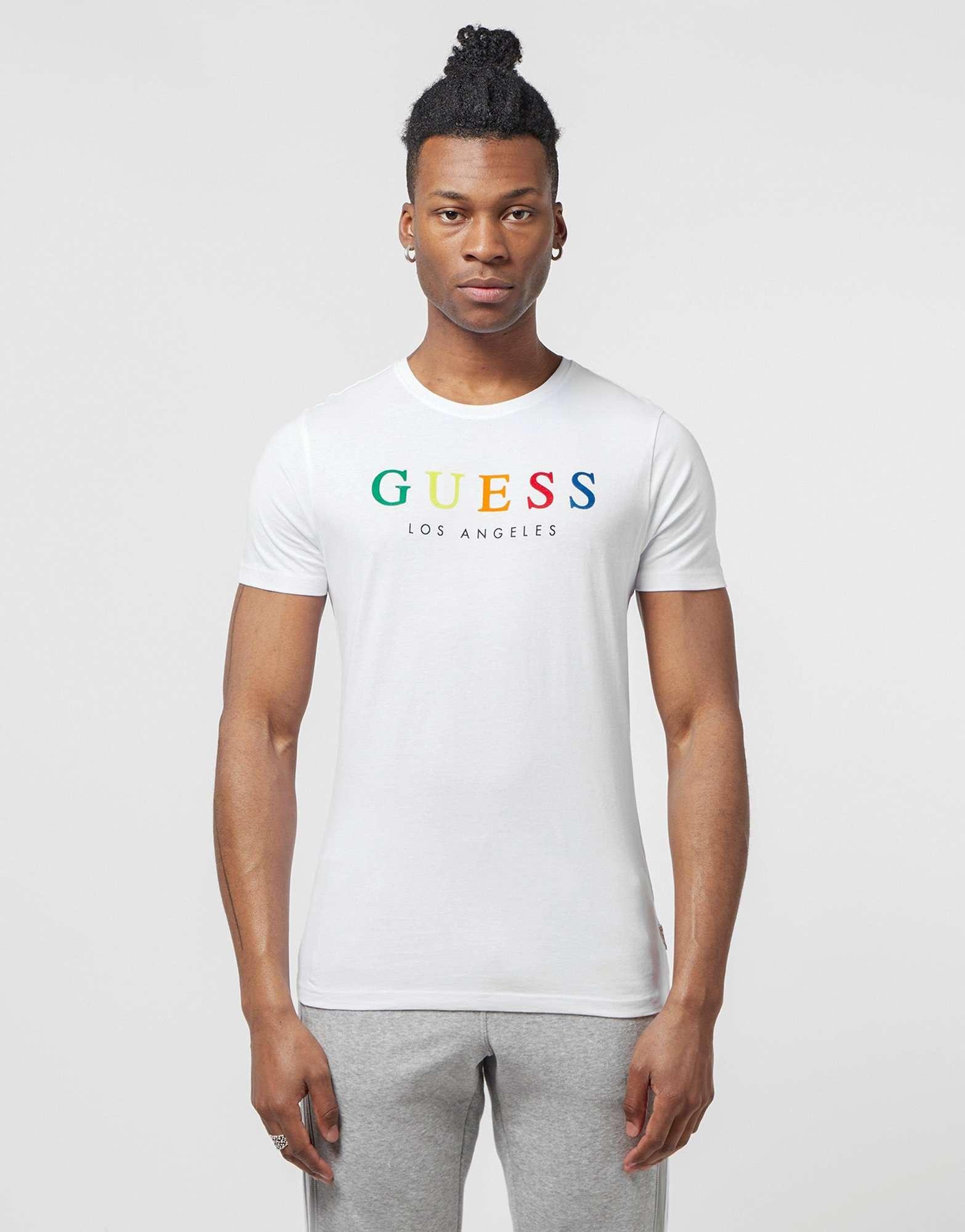 Guess Rainbow Short Sleeve T-Shirt