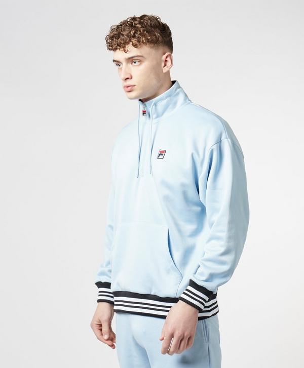 fa72bfe0a255 Fila Tape Tip Half Zip Sweatshirt | scotts Menswear