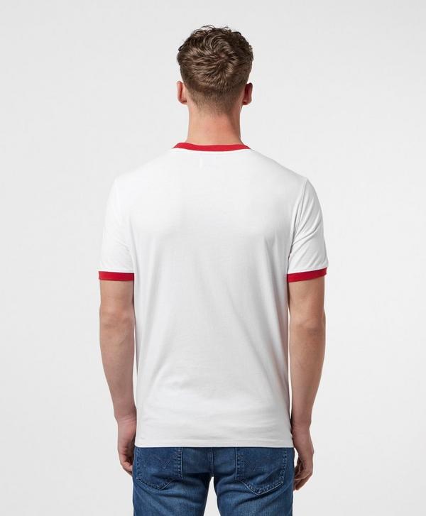 4588e80aebb5 Guess Block Stripe Short Sleeve T-Shirt | scotts Menswear