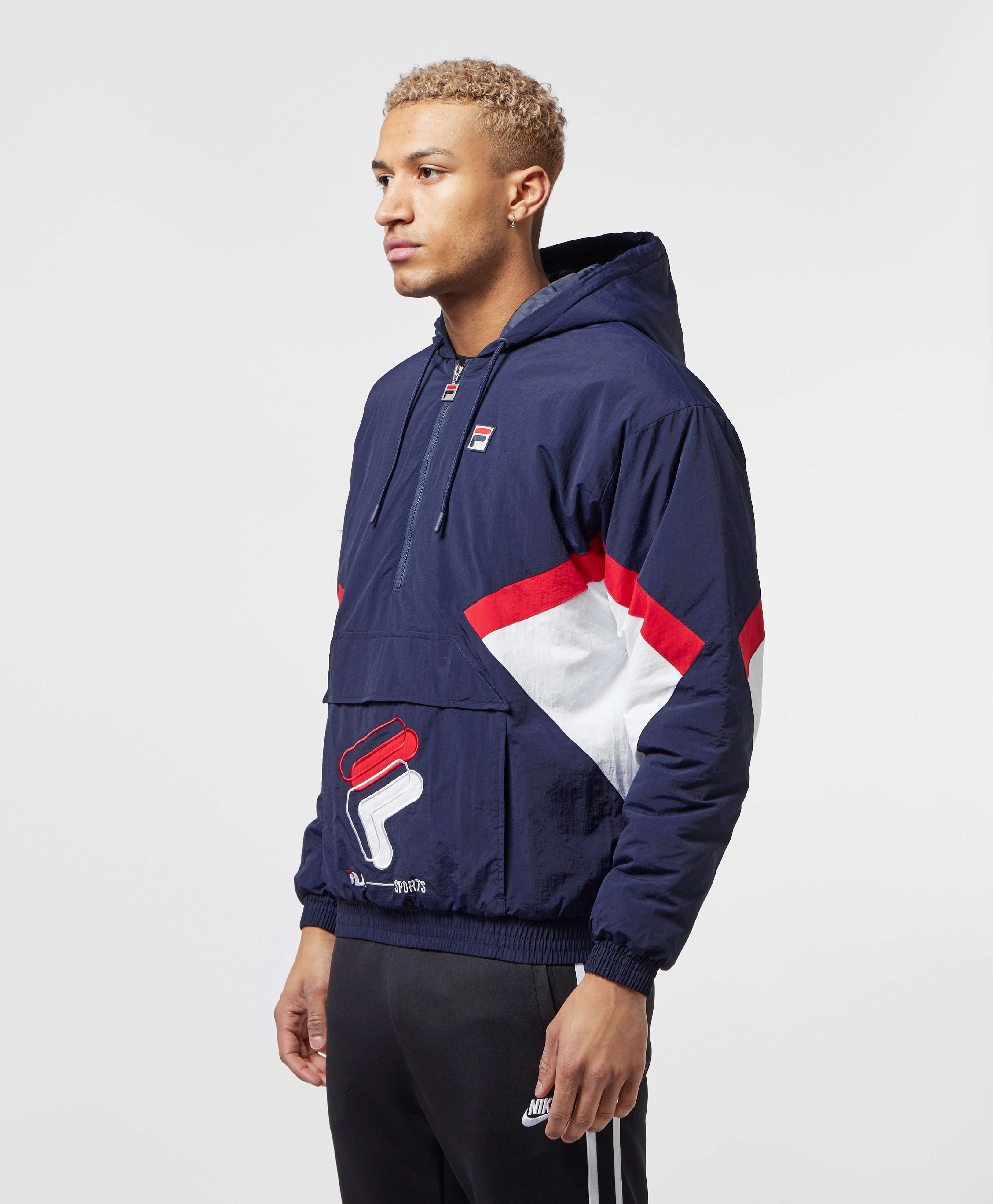 Fila Colour Block Shell Half Zip Jacket