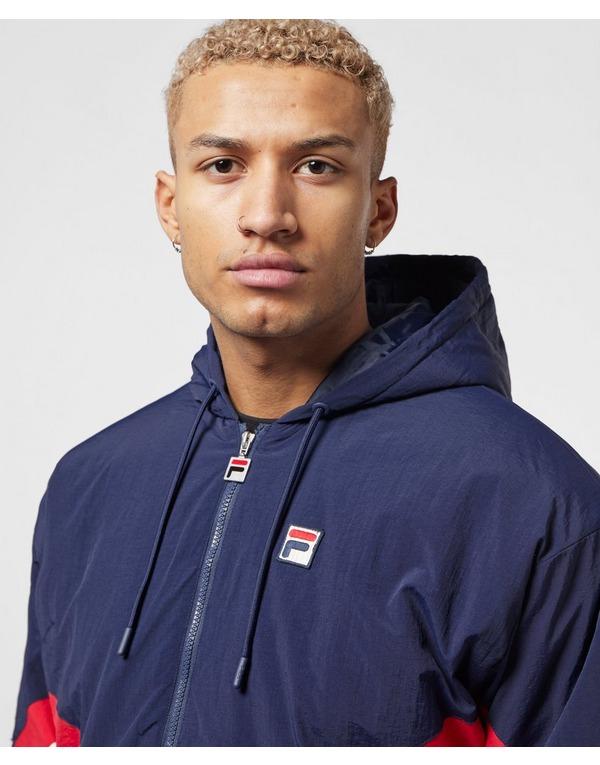 Fila Colour Block Shell Half Zip Jacket