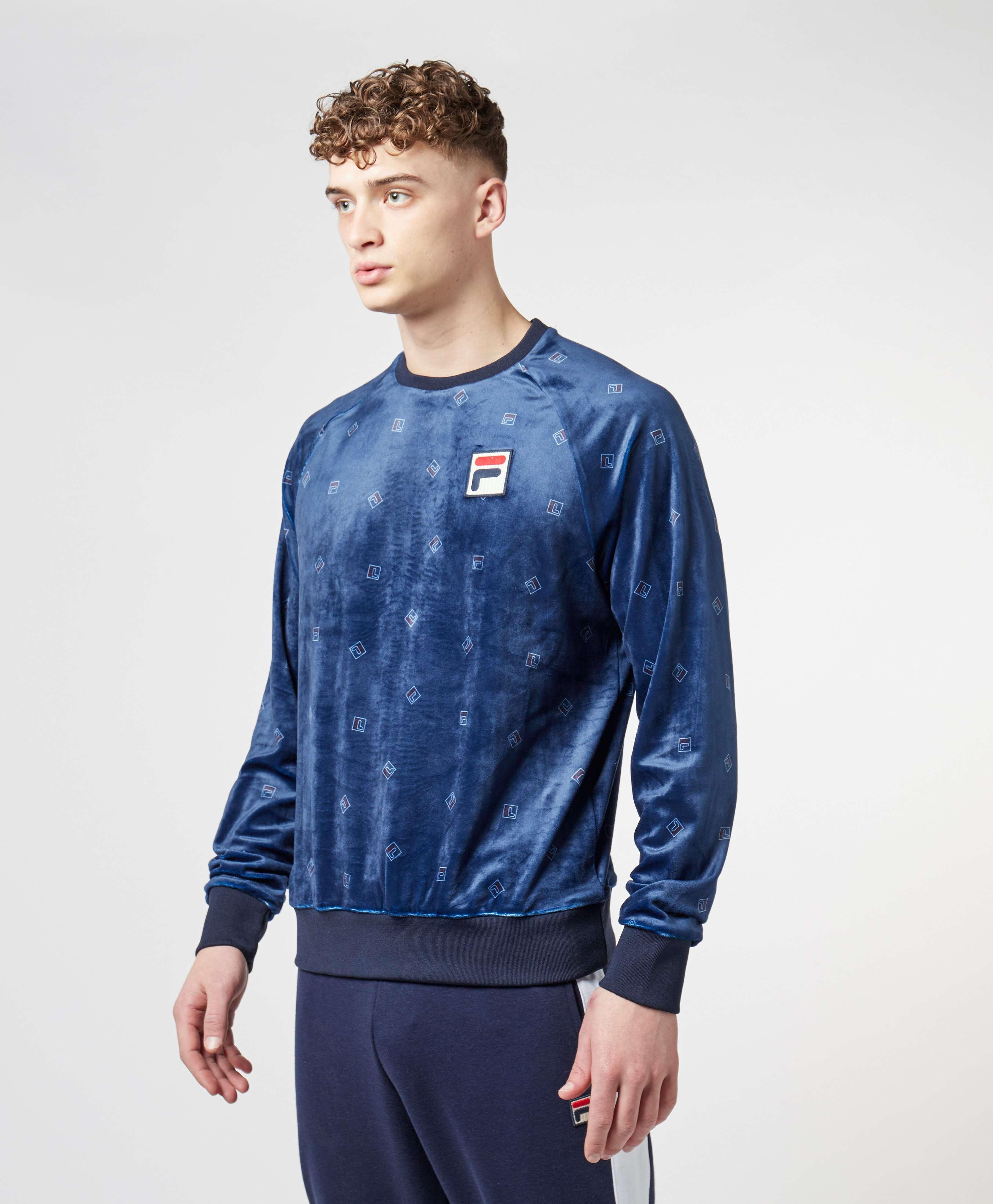 Fila All Over Print Sweatshirt