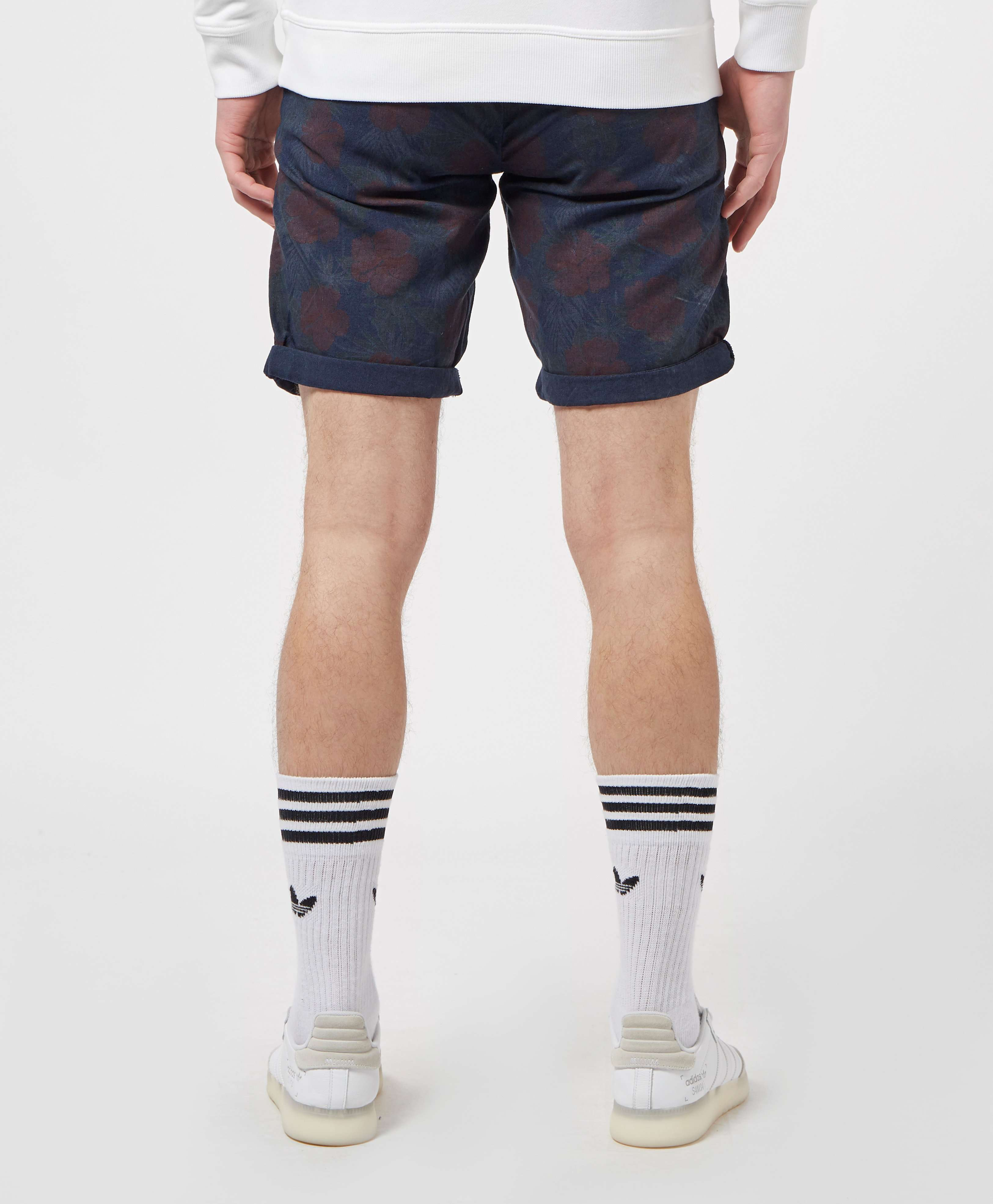 Guess Myron Floral Chino Shorts