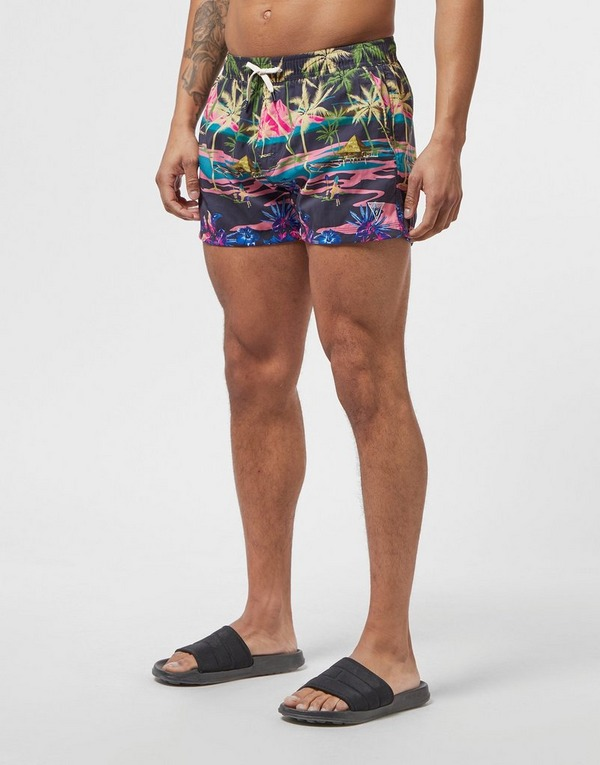 Guess Palm Swim Shorts