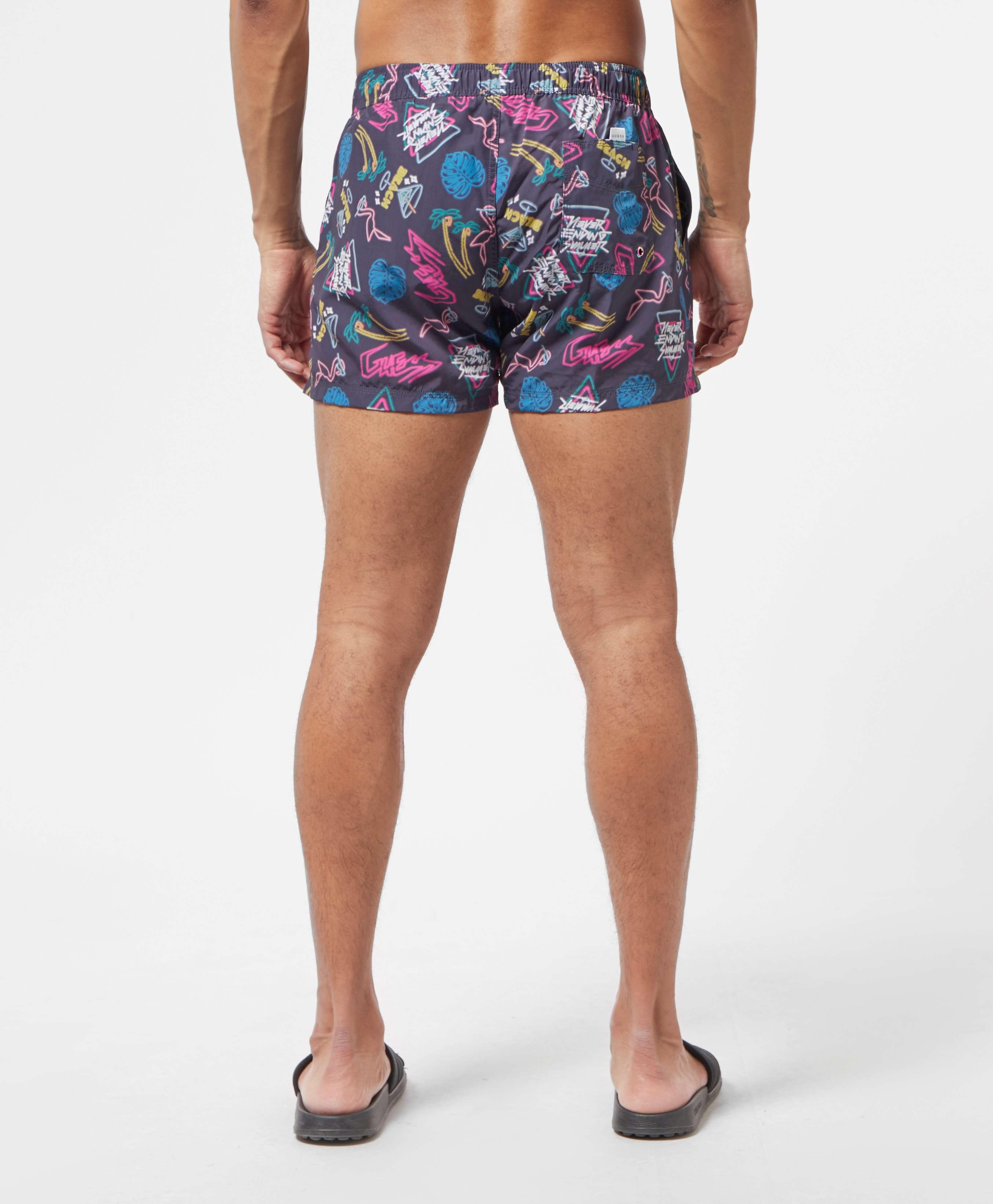 Guess Neon Swim Shorts