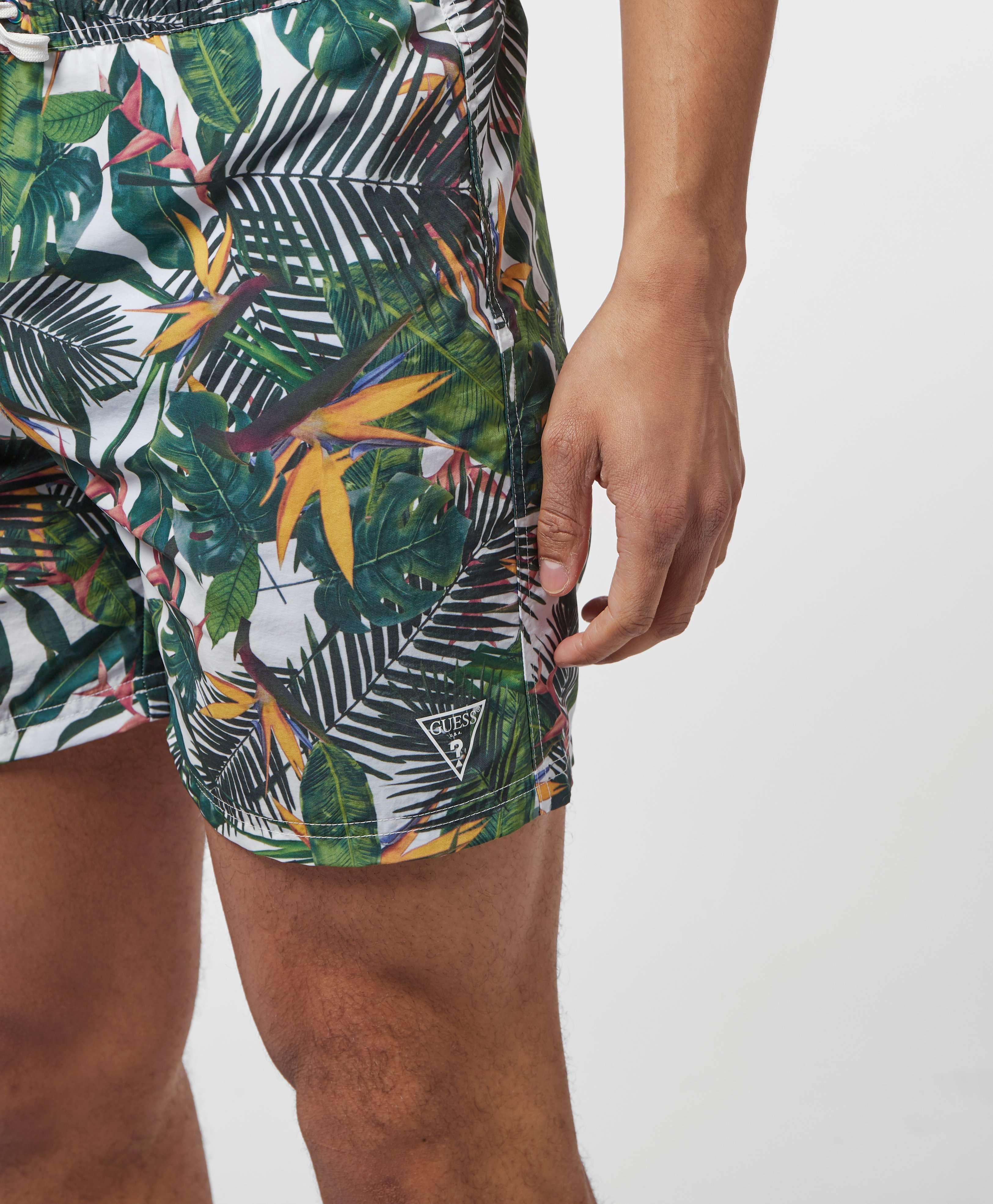 Guess Floral Swim Shorts
