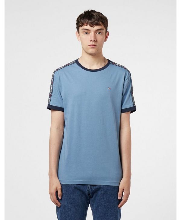 4a07a3018 Tommy Hilfiger Short Sleeve Tape T-Shirt   scotts Menswear
